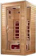 """Dynamic """"Alicante"""" 1-2-person Bio Ceramic  Far Infrared Sauna"""
