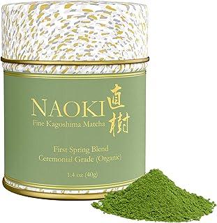 Naoki Matcha (Organic First Spring Blend, 40g / 1.4oz) - Authentic Japanese Matcha Green Tea Powder Organic Ceremonial Gra...