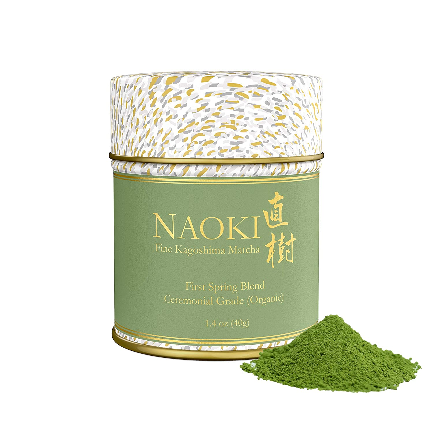 Naoki Matcha free Super beauty product restock quality top Organic Ceremonial First Spring Authen – Blend