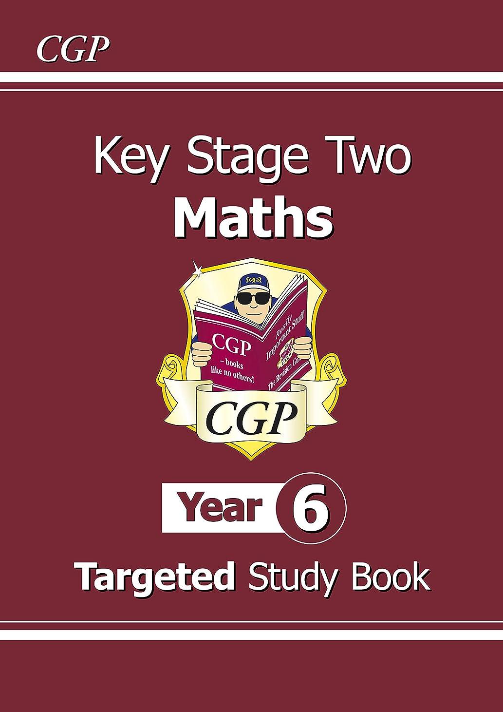 十分グループ友だちKS2 Maths Targeted Study Book - Year 6 (CGP KS2 Maths) (English Edition)