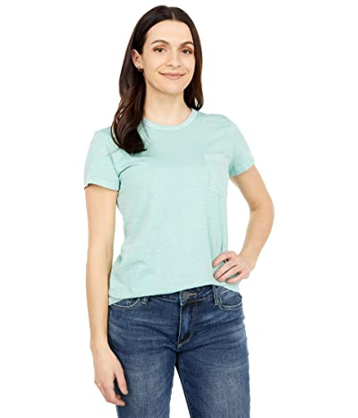 Toad&Co Primo Short Sleeve Crew (Blue Surf Vintage Wash) Women