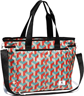 Women Weekender Overnight Travel Shoulder Bag Overnight Carry-on Duffel Gym Tote Luggage (Y Pattern)