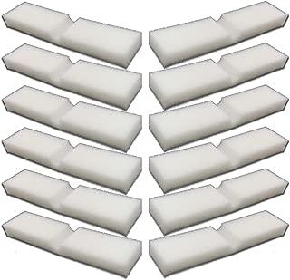 12 Pack of Foam Filter Pads for Fluval FX4 / FX5 / FX6