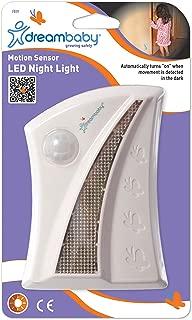 Dreambaby White LED Night Light, Motion Sensor