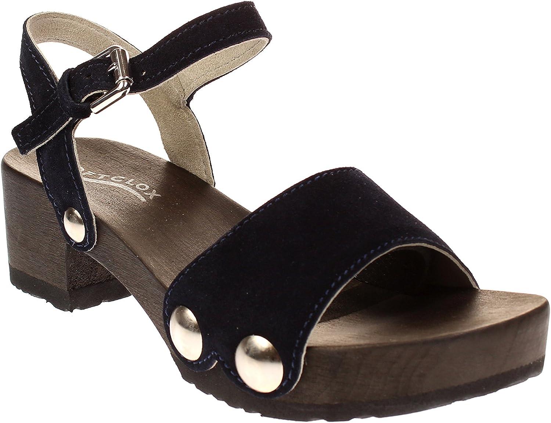 Softclox Penny Kaschmir S3378 - Damen Damen Damen Schuhe Offene Schuhe - 17-Dark-Ocean a1a