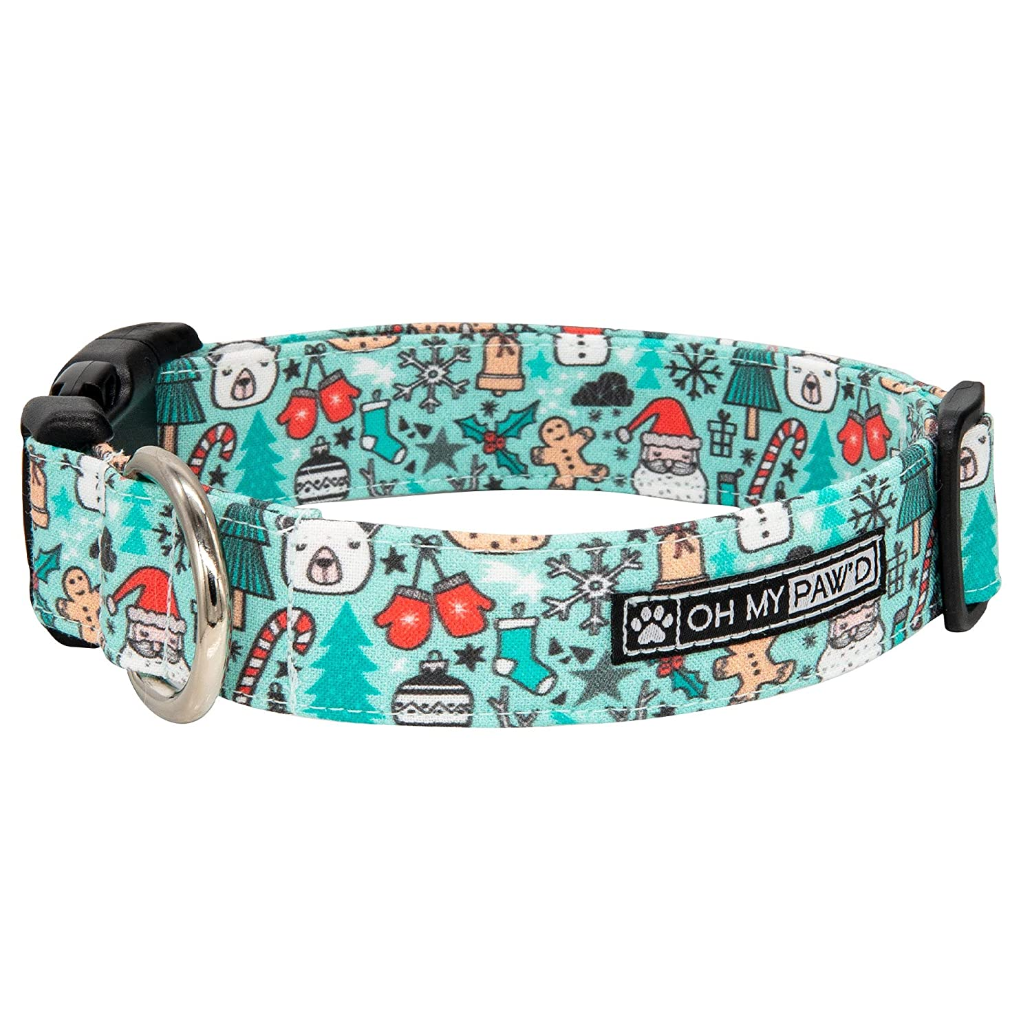 Winter Holiday Collar for Dogs or Cats Inch Overseas parallel import regular Special price for a limited time item 5 8 Small Size Extra