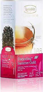 Ronnefeldt Darjeeling Summer Gold joy of tea - Bio-Schwarztee, 15 Teebeutel, 37,5 g
