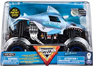 Monster Jam Official Megladon Monster Truck, Die-Cast Vehicle 1:24 Scale