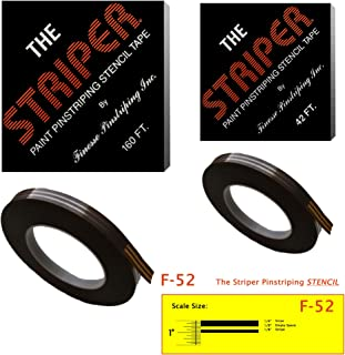 The Striper Paint Pinstriping Stencil Tape - Pinstripe Your Car/Truck   Striper: F-52   Results: 1/4