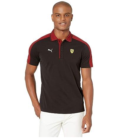 PUMA Scuderia Ferrari Street Polo (PUMA Black) Men