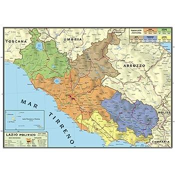 Regione Toscana Cartina Politica.Carta Geografica Murale Regionale Toscana 100x140 Bifacciale Fisica E Politica Amazon It Cancelleria E Prodotti Per Ufficio