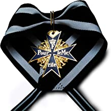 Military Medal Pour Le Merite 24k Gold Plated Medal Blue Max Highest Medal Honor one of The Best Awards Medals Copy