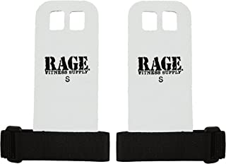 Rage Fitness Leather Hand Grips, The Original Palm Grip, Gymnastics, Weightlifting, Kettlebell, Barbell, Pull-ups, Chin-up...