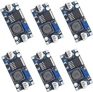 Valefod 6 Pack LM2596 DC to DC High Efficiency Voltage Regulator 3.0-40V to 1.5-35V Buck Converter DIY Power Supply Step D...