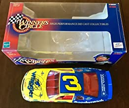 Dale Earnhardt Sr Signed RARE 1998 Wrangler Goodwrench 1/24 Diecast Action Car - Autographed Diecast Cars