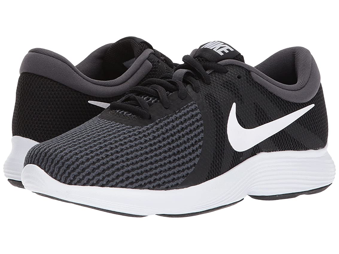 どちらか複雑でない誰が(ナイキ) NIKE レディースランニングシューズ?スニーカー?靴 Revolution 4 Black/White/Anthracite 12 (29cm) D - Wide