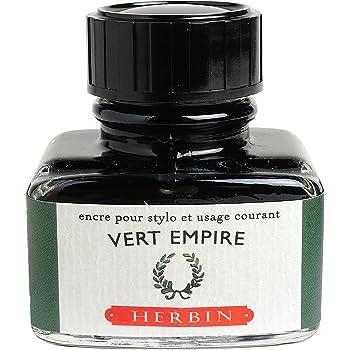 J. Herbin Fountain Pen Ink - 30 ml Bottled - Vert Empire