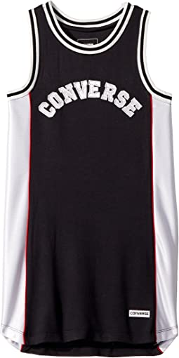 Converse Kids Basketball Jersey Dress (Big Kids)