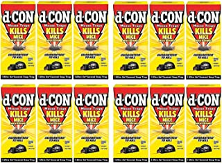 D-Con Ultra Set Covered Snap Trap 1 Ct. (Pack of 12)