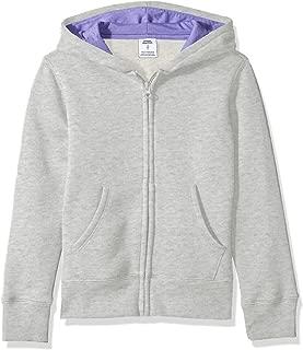 Girls' Fleece Zip-up Hoodie