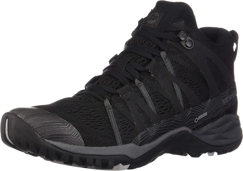 Merrell Womens Siren Hex Q2 Mid E-Mesh Gore-Tex Hiking shoes