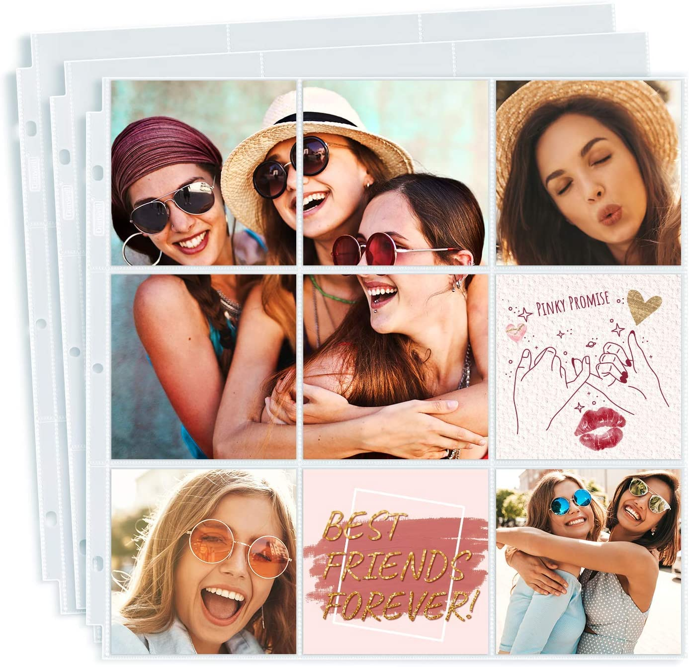 Dunwell At the price 4x4 Photo Album Refills- Standard Pack Ring 3 50 Finally popular brand