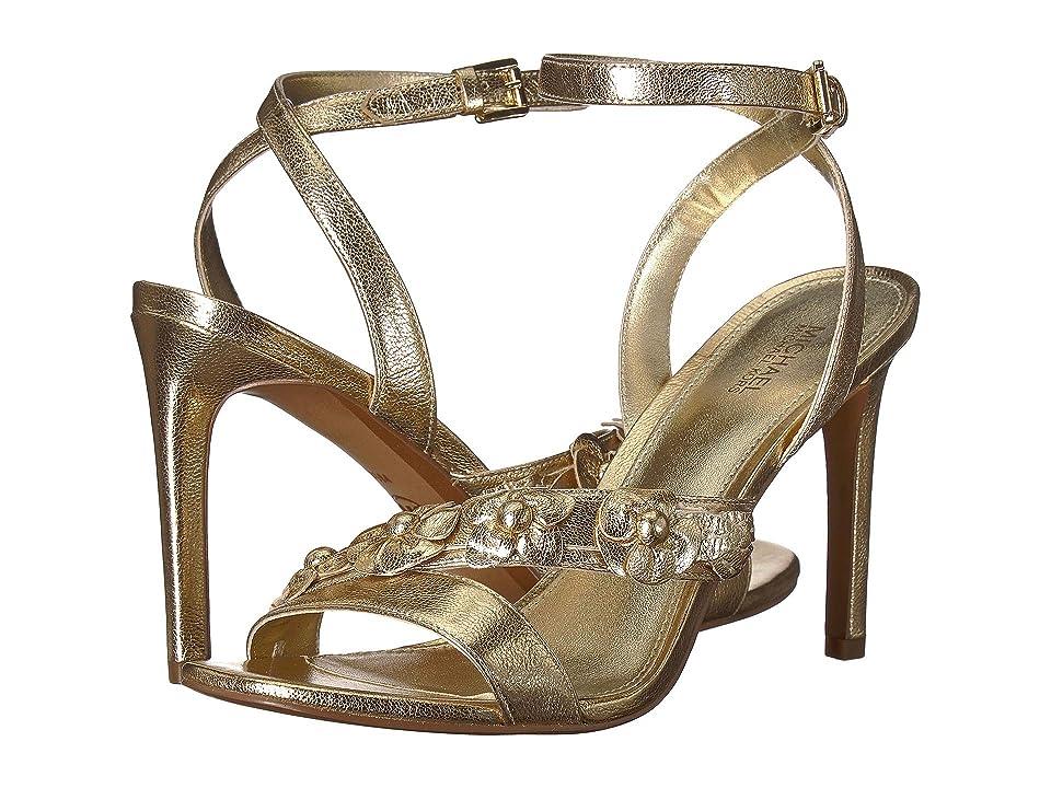 MICHAEL Michael Kors Tricia Sandal (Pale Gold) Women