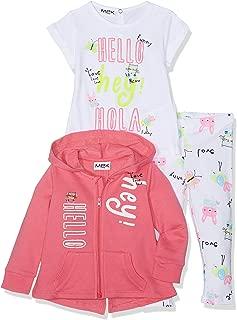 MEK Baby Girls Tracksuit Pack of 3