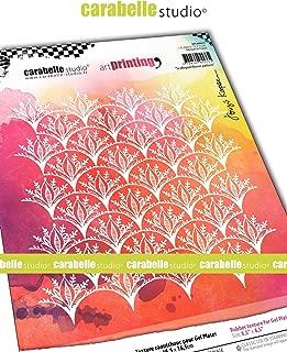 CARABELLE STUDIO APCA60033 Rubber Texture Plate, Scalloped Flower Pattern
