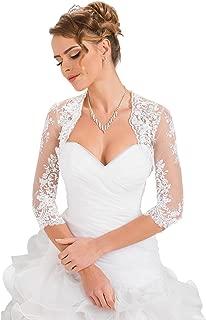 Wedding Bridal Lace Bolero Shrug Jacket Stole Shawl