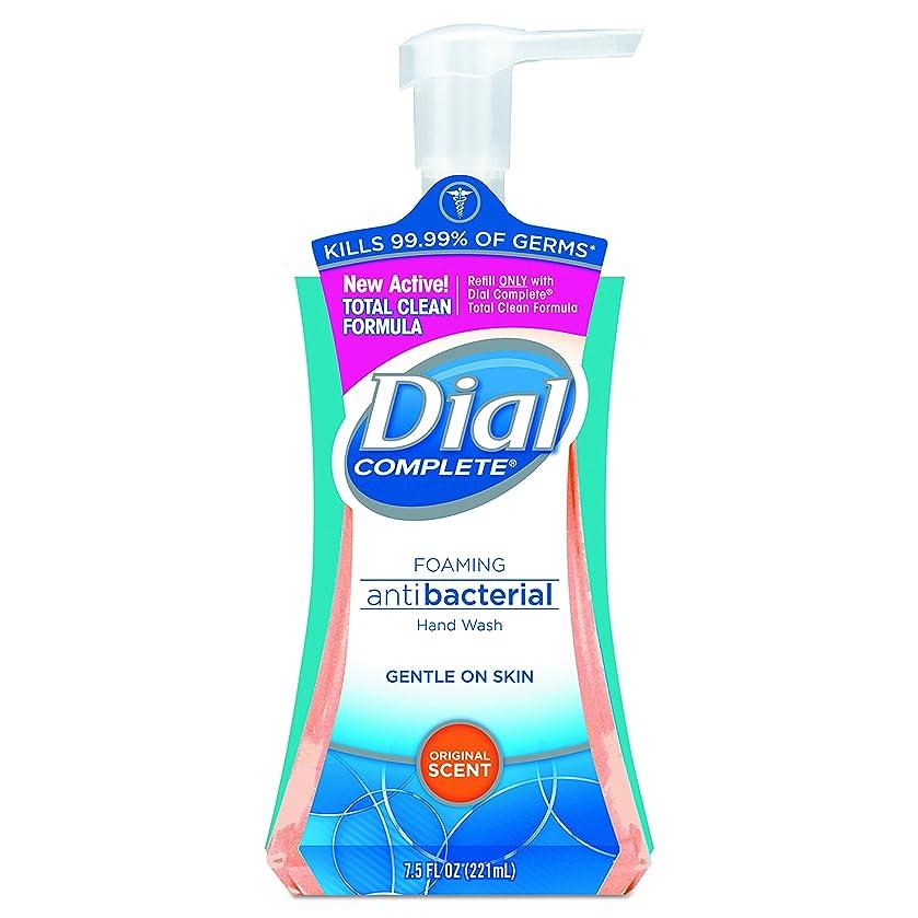 滝一緒に熱狂的なDial Complete Foaming Hand Wash, Liquid, Fresh Scent, 7.5 oz Pump Bottle, 8/Carton