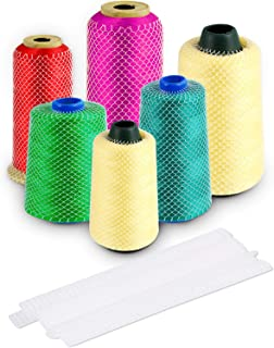 Threads Net Spool Saver Unwinding Threads Sewing Threads Cone Nets for Sewing Embroidery Machine Large Small Cones (100)