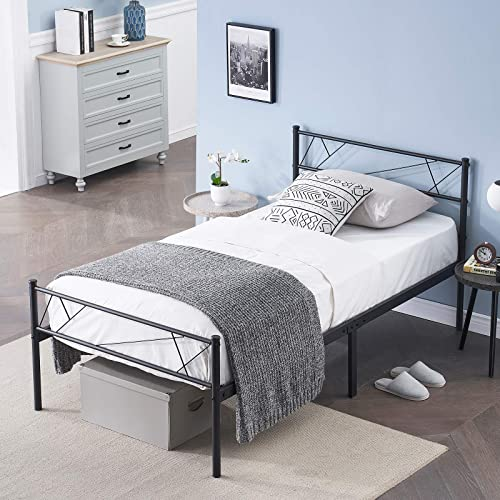 Symylife Twin Bed Frame