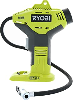 Ryobi P737 18-Volt ONE+ Portable Cordless Power Inflator for Tires (Battery Not Included,..