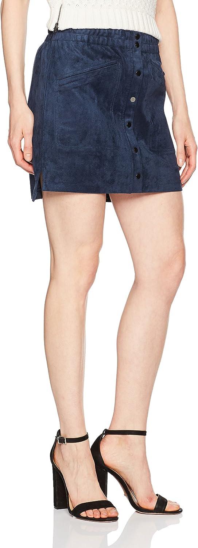 BCBGMAXAZRIA Womens Mora Faux Suede Skirt Tank Top Cami Shirt