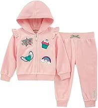 Juicy Couture Baby Girls 2 Pieces Jog Set-Velour