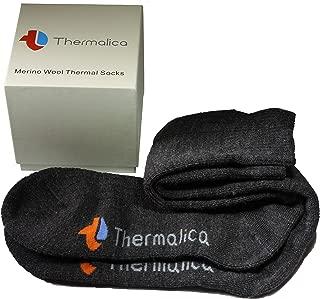 Luxury Thermal 80% Merino Wool Hiking Socks -Calf High, Soft & Thick