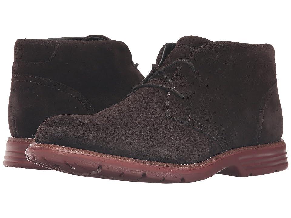 Rockport Total Motion Fusion Desert Boot (Dark Bitter Chocolate) Men