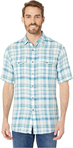 Mineral Blue Plaid