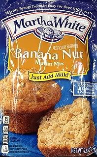 Martha White BANANA NUT Muffin Mix 7.6oz (3 Packets)