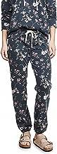 SUNDRY Women's Floral Basic Sweatpants