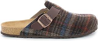 Bayton Maik Mens Slippers, Brown, 7.5