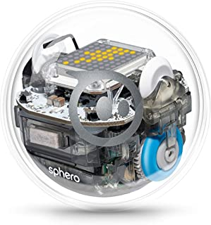 Sphero BOLT | App-Enabled Robotic Ball | STEM Learning and Coding for Kids, Programmable LED Matrix, Bluetooth Connection,...