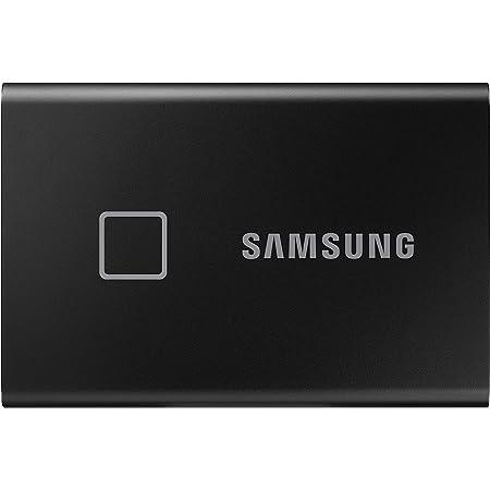 Samsung T7 Portable SSD de 1 TB (USB 3.2 Gen.2, hasta 1.050 MB/s) Negro Metálico