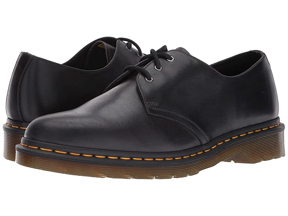Dr. Martens 1461 3-Eye Shoe (Gunmetal Orleans) Men