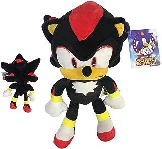 "Sonic - Peluche Shadow The Hedgehog 11'80""/30cm Color Negro Calidad Super Soft"
