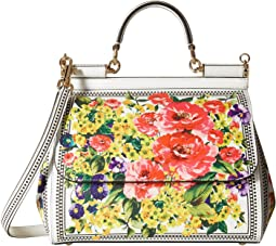 Dolce & Gabbana - Floral Printed Sicily Bag