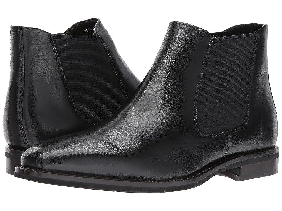 ECCO Faro Plain Toe Boot (Black) Men