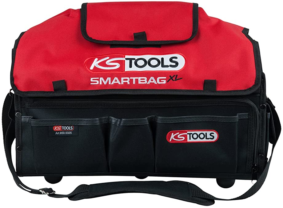 KS Tools SMARTBAG Universal Tool case Xextra Long, Clear