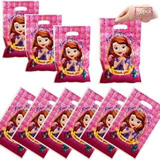 Dawei 30 Pcs Sofia the First Party Gift Bags,candy bag,royal pincess Birthday party supplies